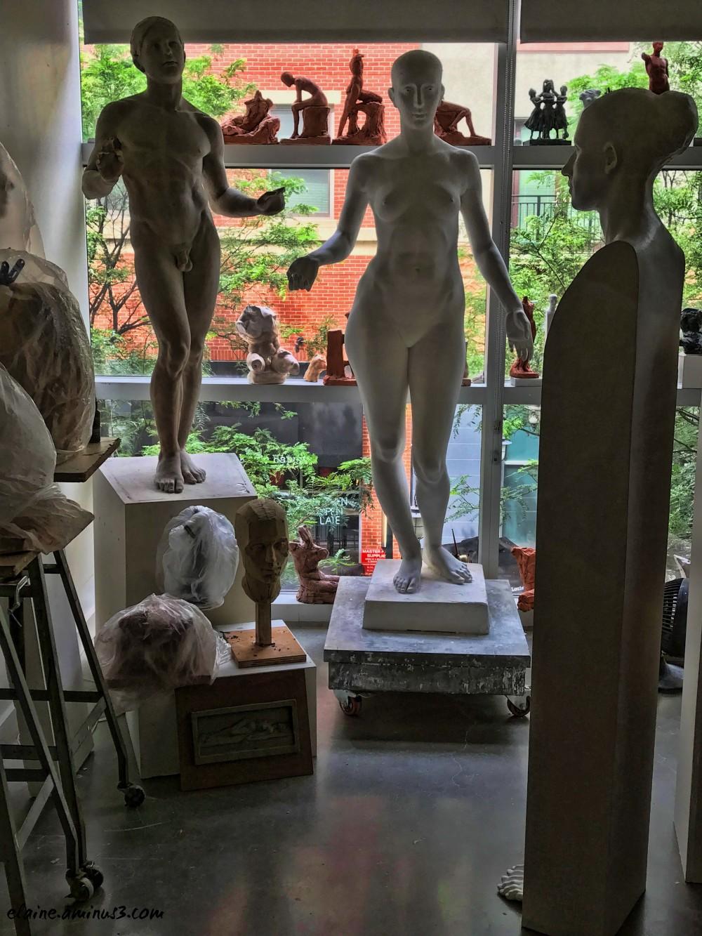 sculptor studio