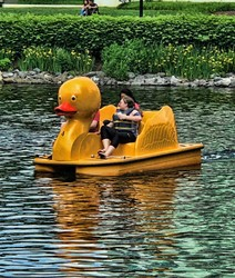 duck paddle boat