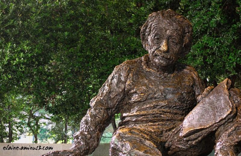 Einstein Sculpture