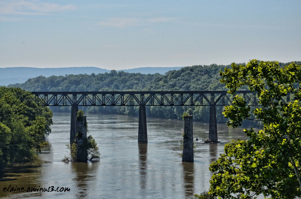 train bridge Potomac River