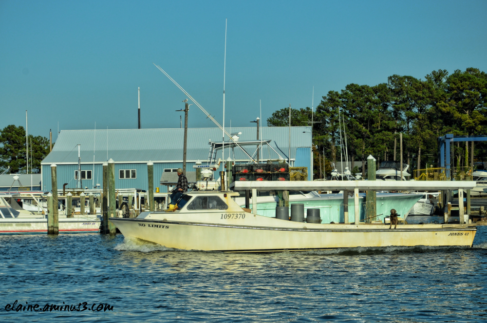 Crabbing boat
