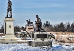 Gettysburg monuments.