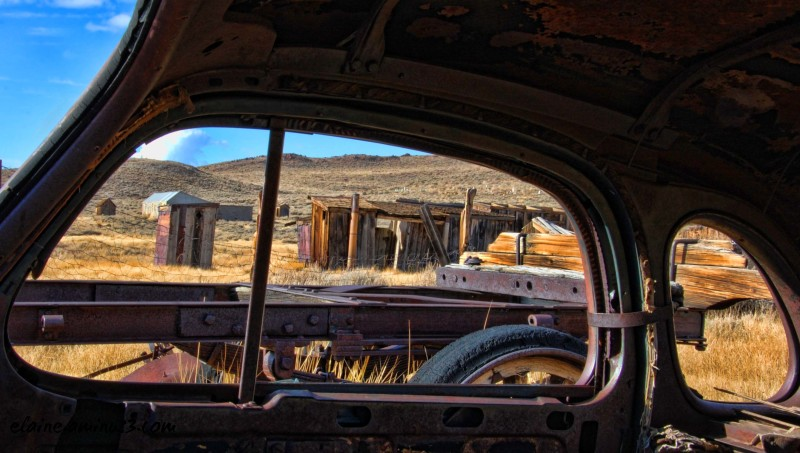 scenic view Bodie