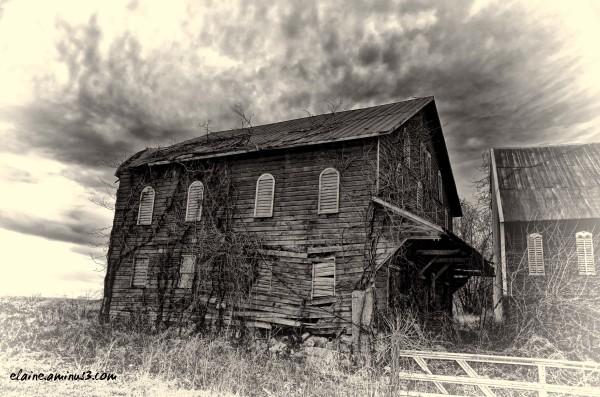 abandoned barn Gettysburg