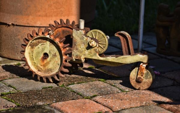 steam punk tractor