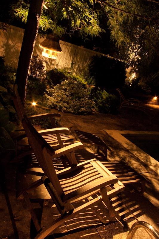 lighting the night garden