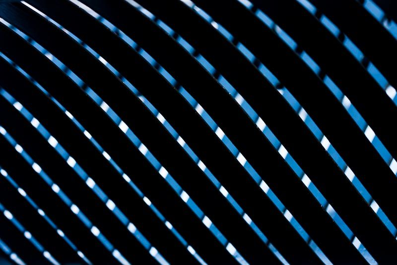 blue diagonal lines light abstract
