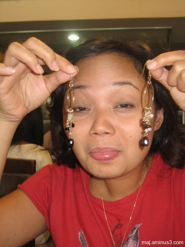 earrings, tongue, maya, belat, jewelry