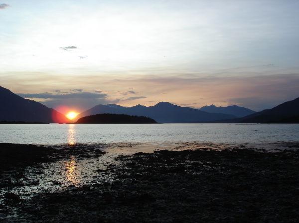 Moose Meadow sunset