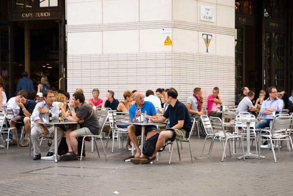 Pelayo Street & Pl. Cataluña