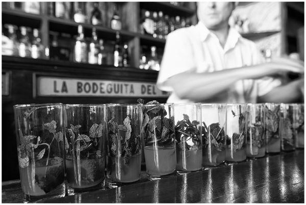 Bodeguita del Medio en La Habana.