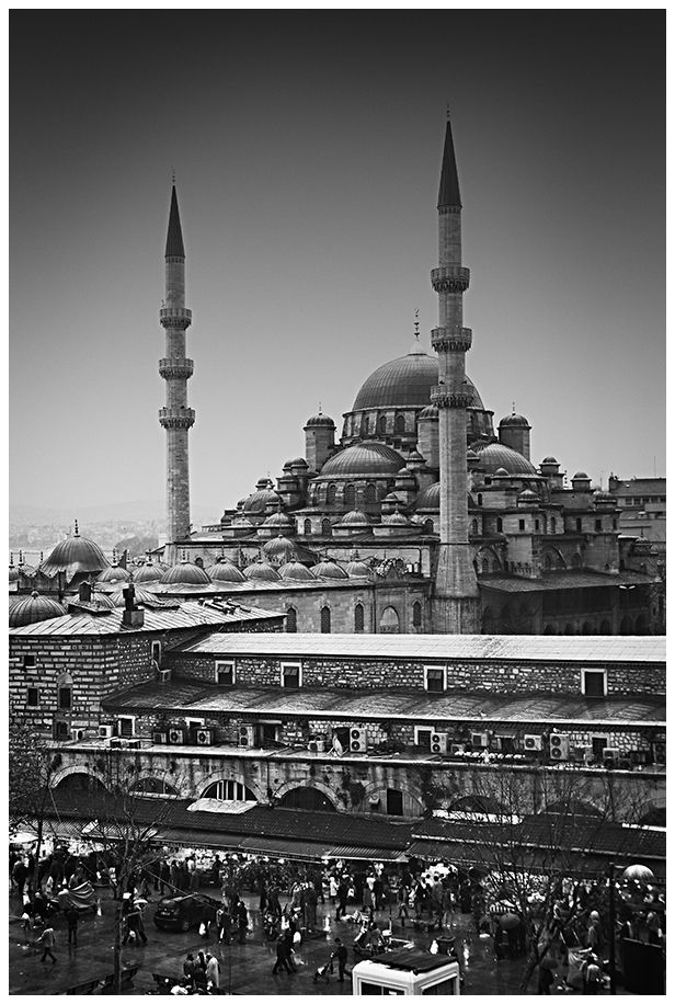 Estambul Mezquita bazar especias
