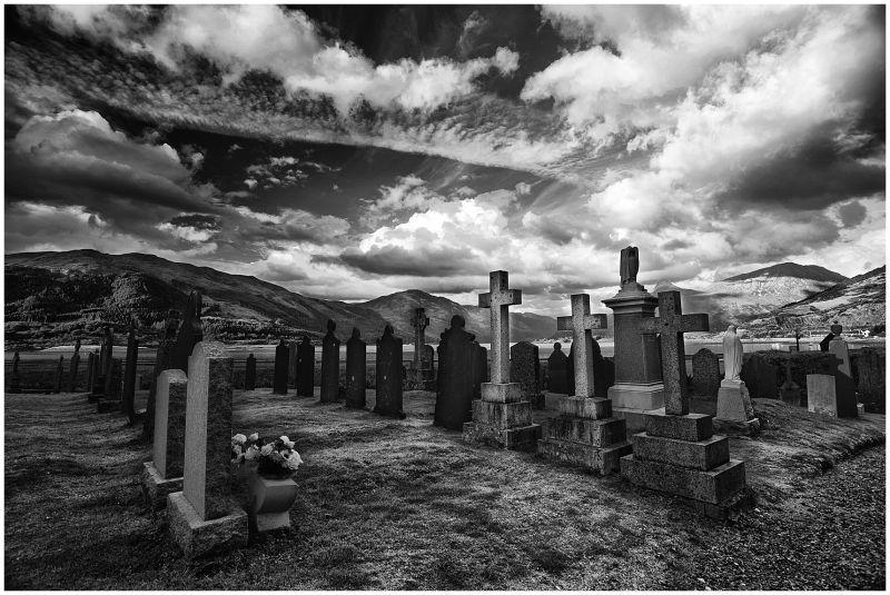 cementery in Scotland