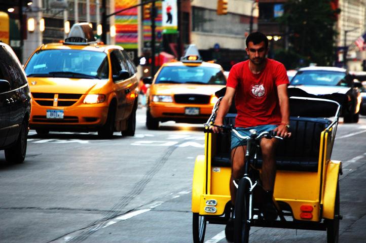 NYC Trishaw