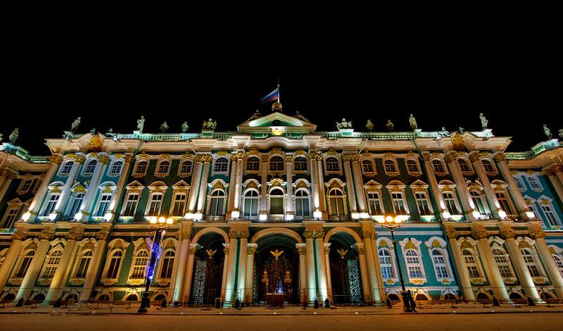 The Hermitage in St Petersburg.