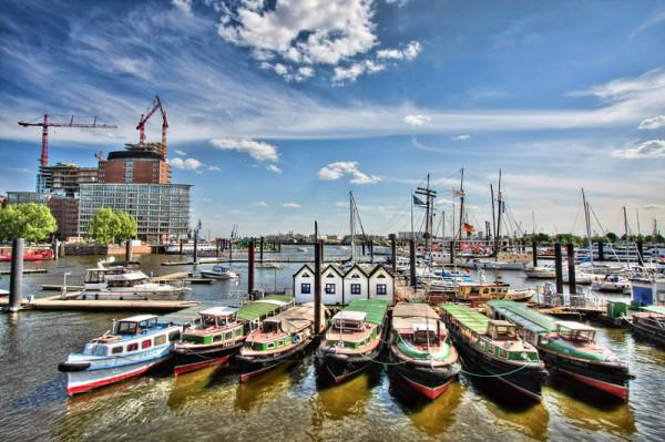 Hamburg habour