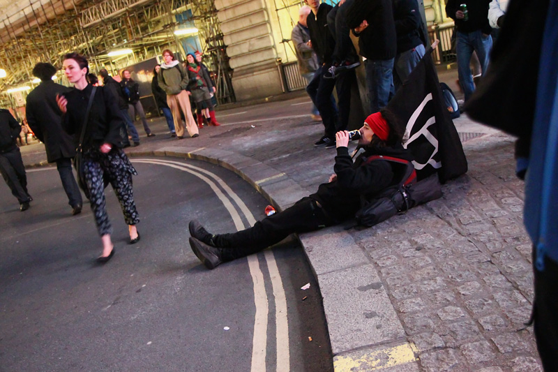 London demonstation