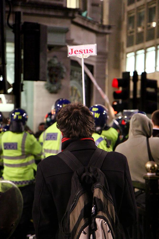 London demonstration