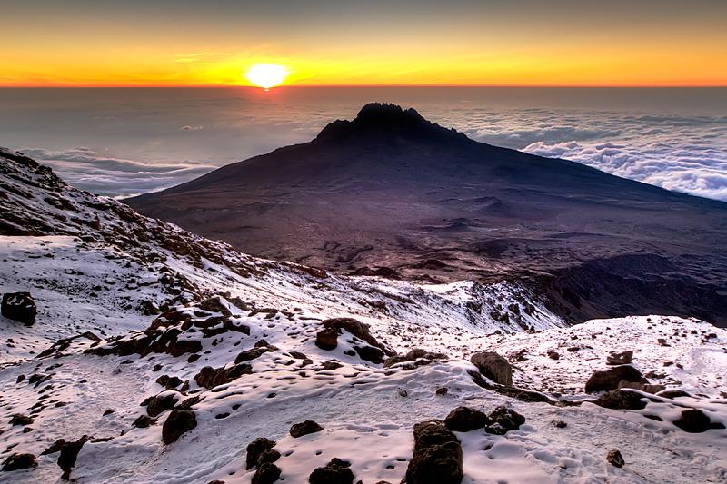 Sunrise mawenzi