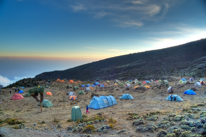 Barranco camp kilimanjaro