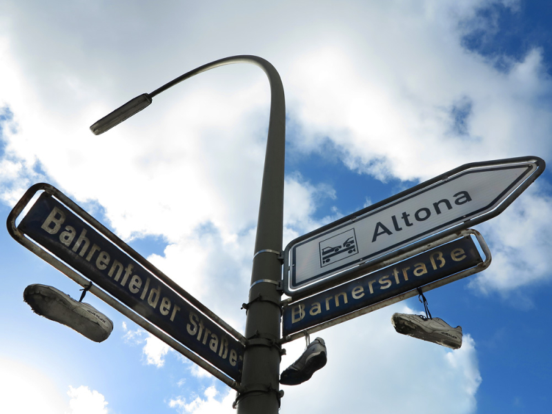 Altona street signs