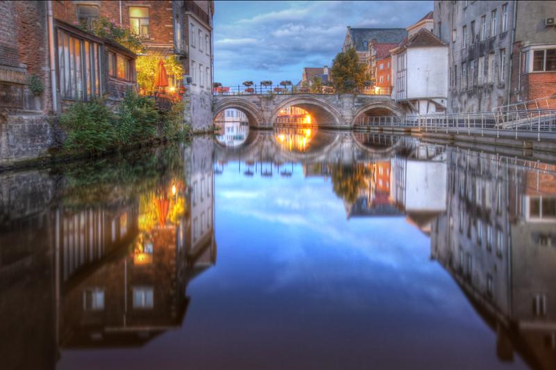 Mechelen Belgium Dijle