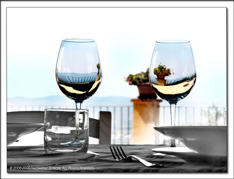 The world in a glass... or rather, two!