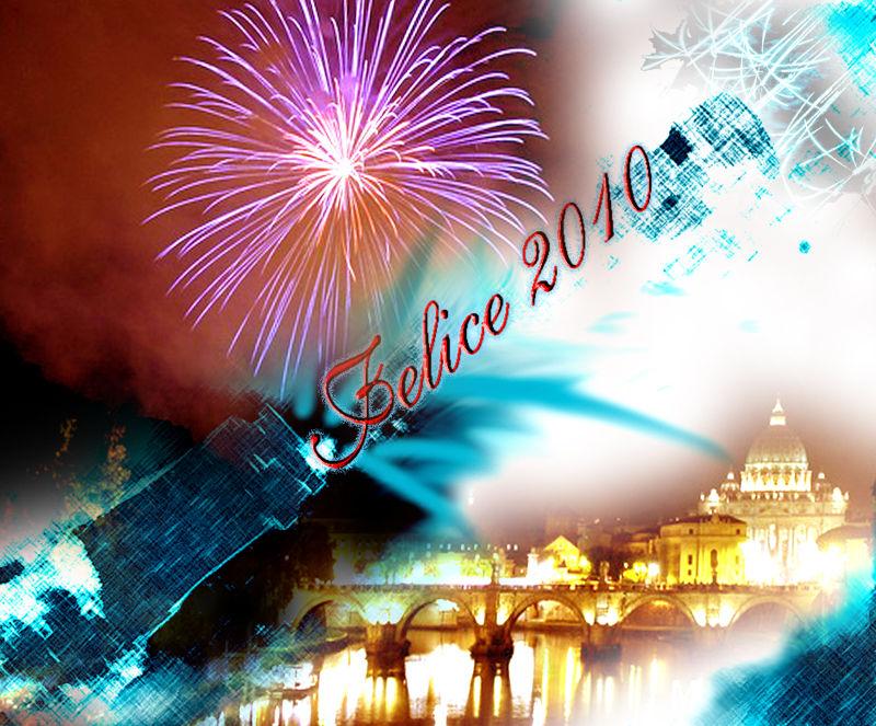Happy New 2010, Buon Anno, Voeux de Heureux 2010