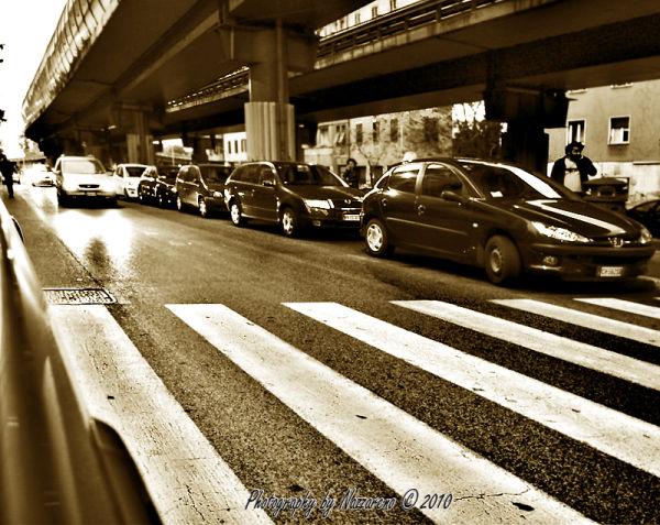 Road crossing in S. Lorenzo