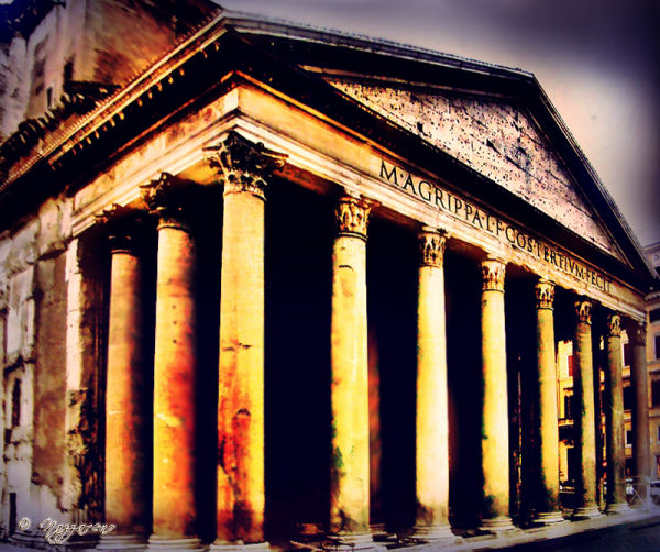Rome, Pantheon, monuments