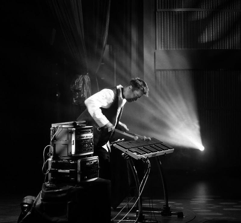 sound, monochrome, music, light, b_w