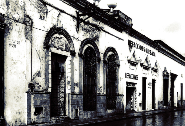 MERIDA, MEXIXO, MONOCHROME