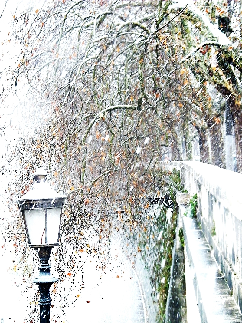 Snow in Rome 2!! ;-))