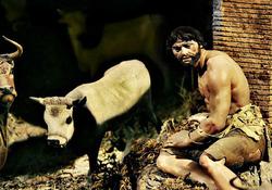 Neapolitan crib: the beggar