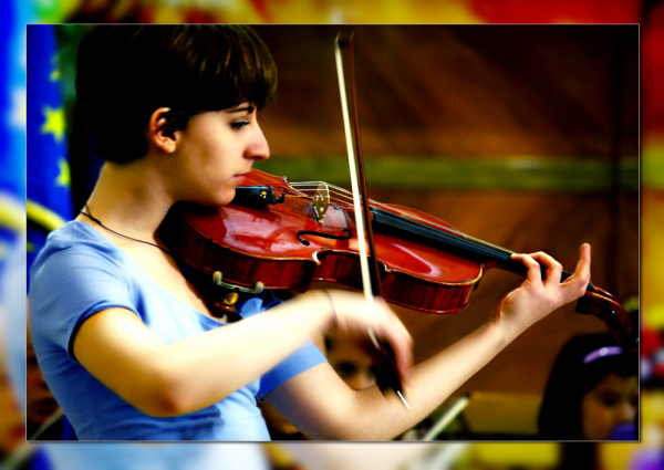Young musician: the talent
