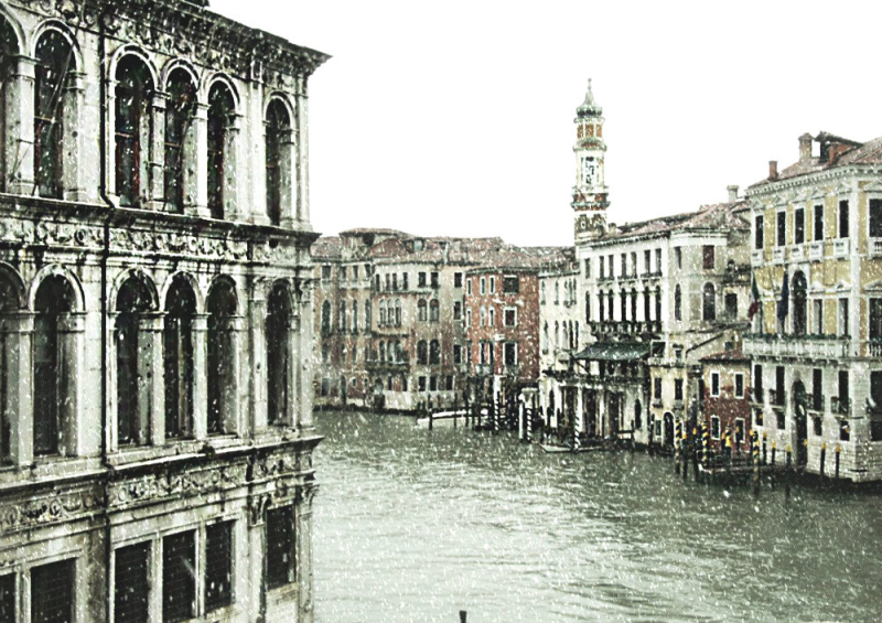 A strange spring in Venice