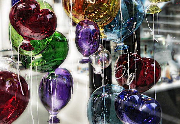 Balloons glass