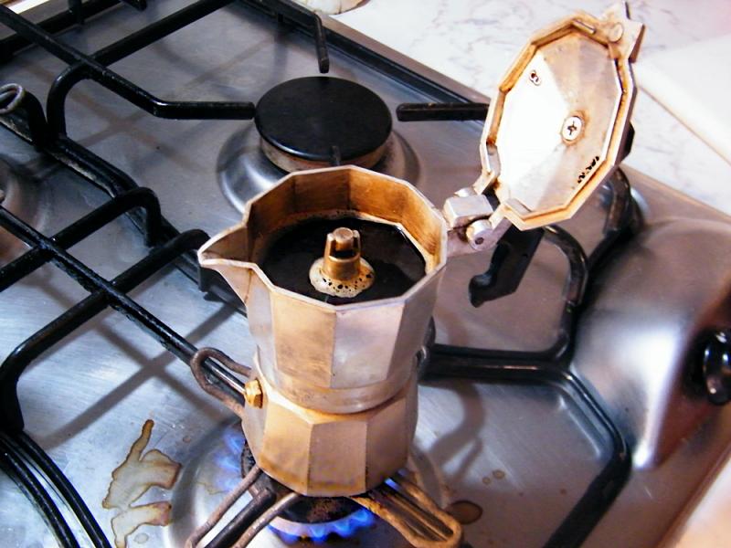 ...a hot black coffee?