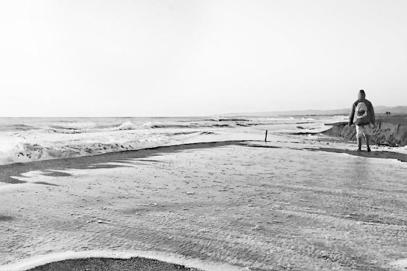 Sea in winter 4