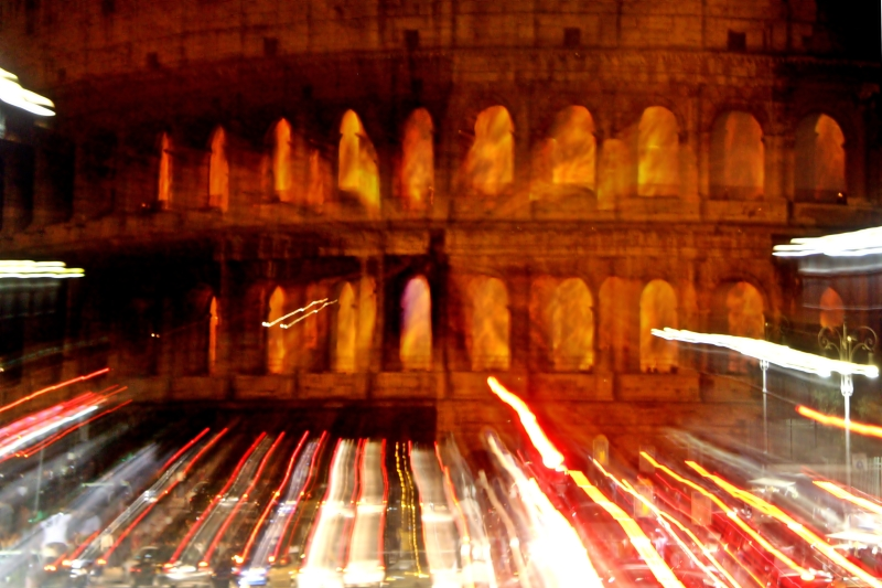 Fire in the Colosseum