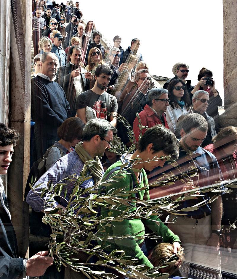 Holy Week (on Palm Sunday) 2/5