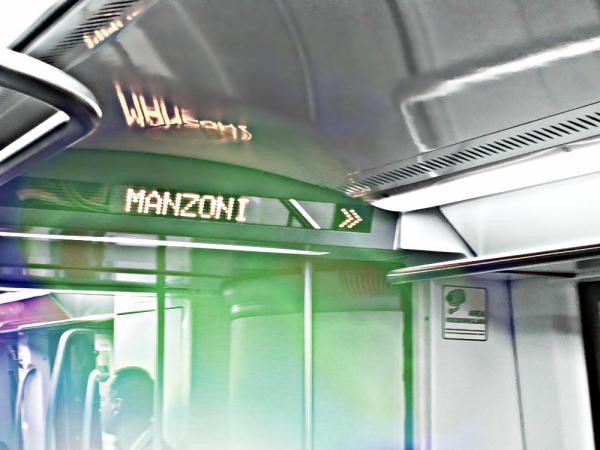 Next stop: Manzoni