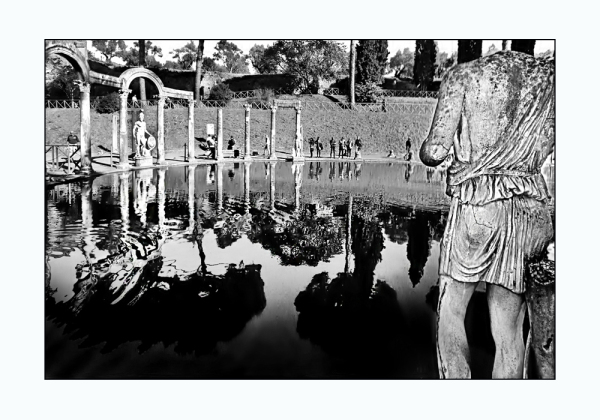 """""""Canopo"""" and central pond of Hadrian's Villa"""