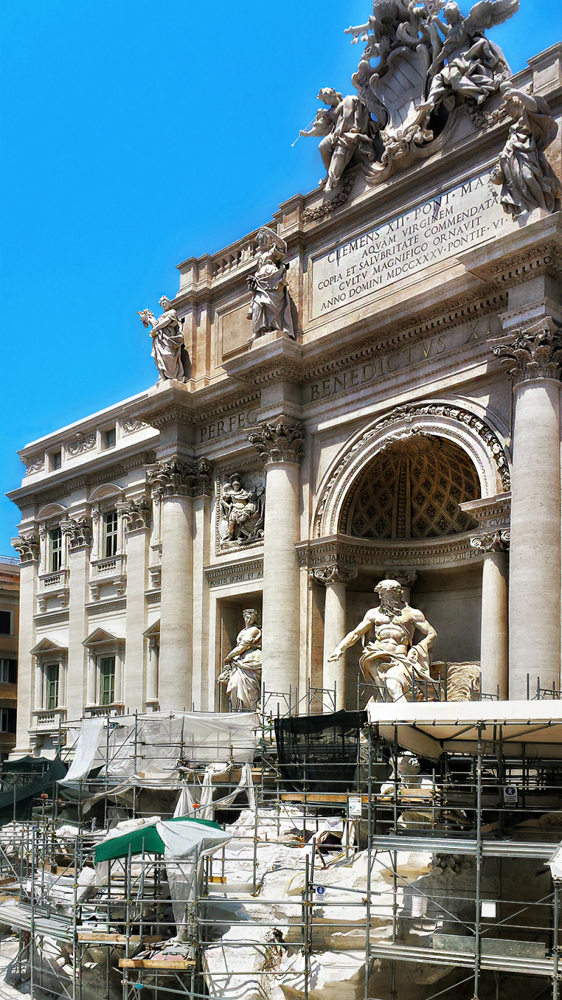 Trevi fountain (work in progress)