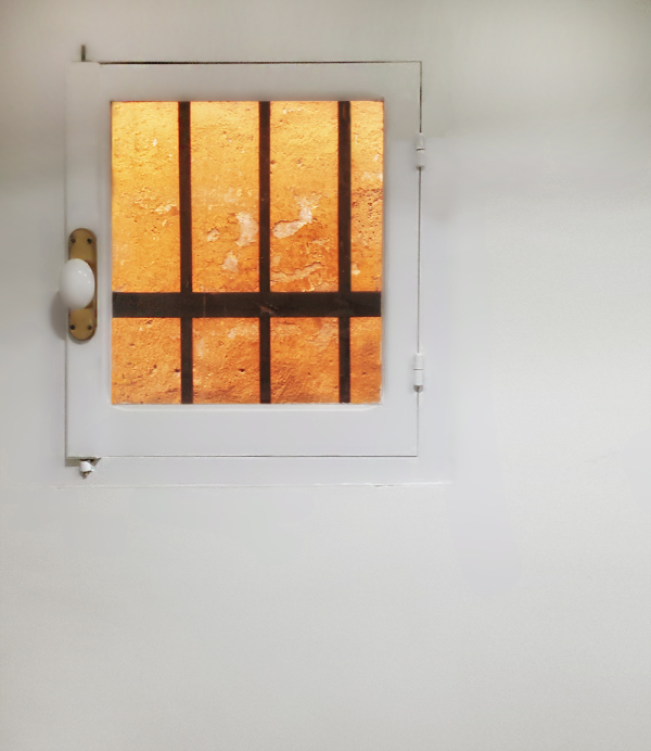 The window on the wall