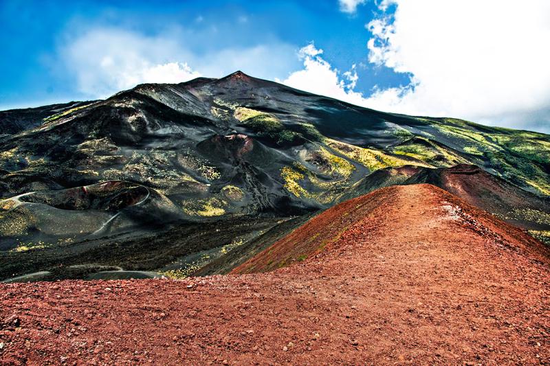 Etna - 3 view of volcano