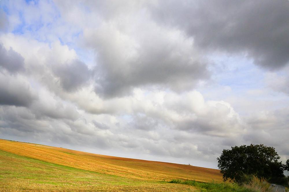 landescape, sky, clouds