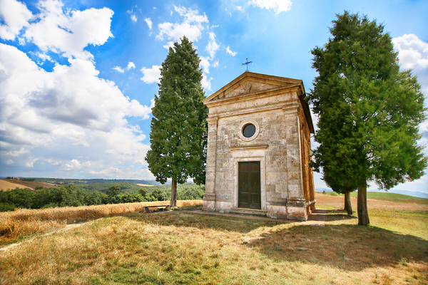 "Chapel of the ""Madonna di Vitaleta"""