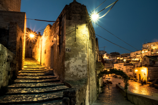 The old stairs (Matera)