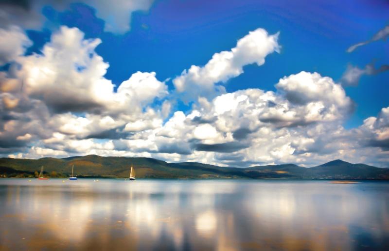 September lake  (Bracciano )
